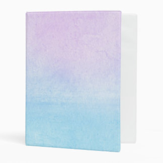 Abstract watercolor hand painted background 18 mini binder