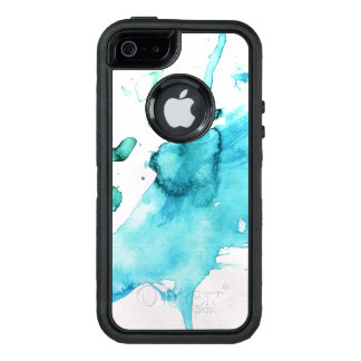 Abstract watercolor hand painted background 2 2 OtterBox iPhone 5/5s/SE case