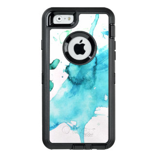 Abstract watercolor hand painted background 2 2 OtterBox iPhone 6/6s case