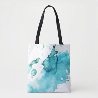 Abstract watercolor hand painted background 2 2 tote bag