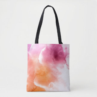 Abstract watercolor hand painted background 3 2 tote bag