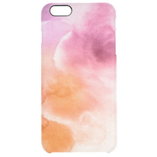 Abstract watercolor hand painted background 3 3 uncommon clearly™ deflector iPhone 6 plus case