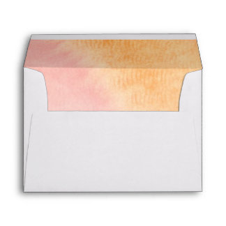 Abstract watercolor hand painted background 4 envelope