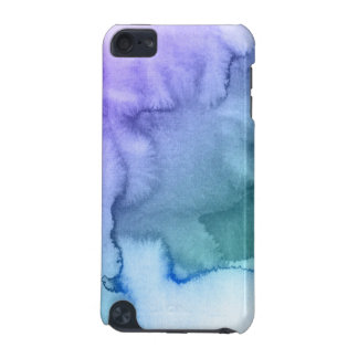 Abstract watercolor hand painted background 6 iPod touch 5G case