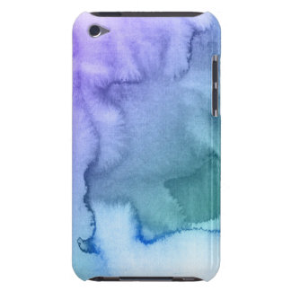 Abstract watercolor hand painted background 6 iPod touch case