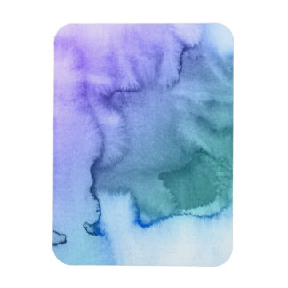 Abstract watercolor hand painted background 6 magnet