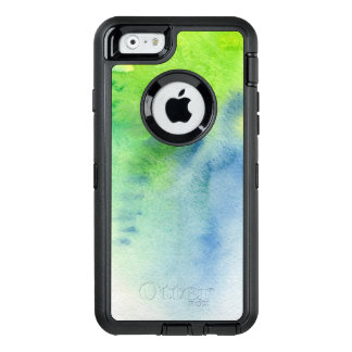 Abstract watercolor hand painted background 8 OtterBox iPhone 6/6s case
