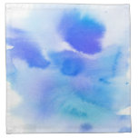 Abstract watercolor hand painted background. printed napkin