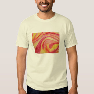 Abstract watercolor in warm colors T-Shirt