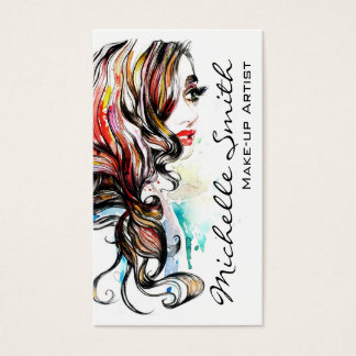 Hairstyle Business Cards & Templates | Zazzle