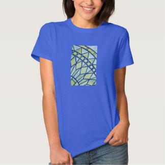 Abstract watercolor mandala shirt