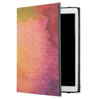 Abstract watercolor painted background iPad pro case