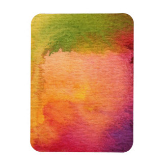 Abstract watercolor painted background magnet