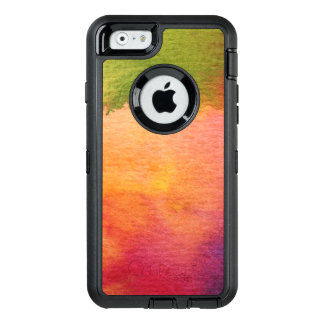 Abstract watercolor painted background OtterBox iPhone 6/6s case