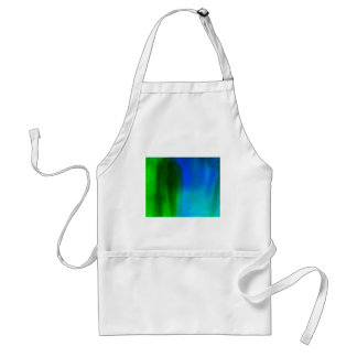 ABSTRACT WATERCOLOR PAINTING ADULT APRON