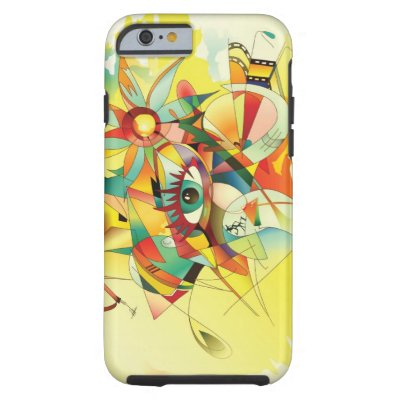 Abstract Watercolor Painting iPhone 6 case