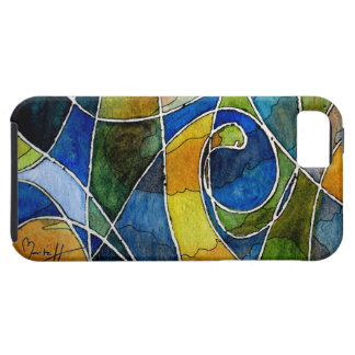 Abstract Watercolor Pen & Ink iPhone SE/5/5s Case