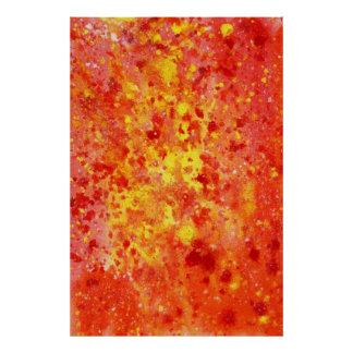 Abstract Watercolor Poster