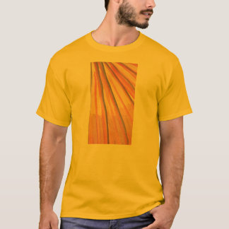 Abstract watercolor rays of golds and browns shirt