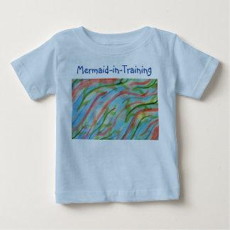 Abstract watercolor seaweed baby T-Shirt