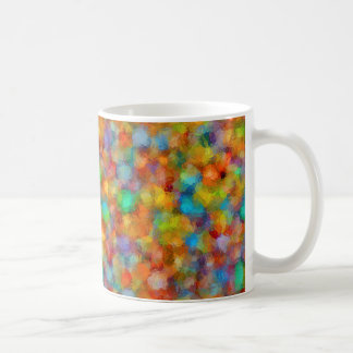 Abstract Watercolour Bubbly Pattern Coffee Mug