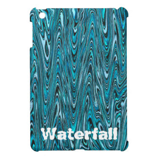 "Abstract ""Waterfall Bubblegum"" pattern Case For The iPad Mini"