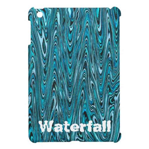 """Abstract """"Waterfall Bubblegum"""" pattern iPad Mini Covers"""