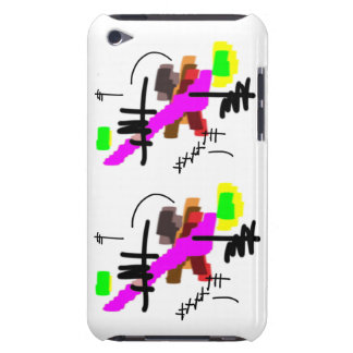 abstract waterfalls iPod touch case
