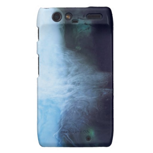 Abstract Waters Photograph Ink and Water Motorola Droid RAZR Covers
