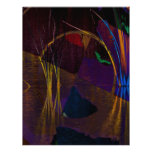 Abstract waterscape letterhead