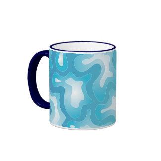 Abstract Watery Ripples Mug