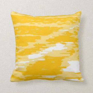 Abstract Wave Color Retro Pillow