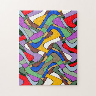 Abstract Waves Jigsaw Puzzles