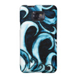 Abstract Waves Samsung Galaxy Cases