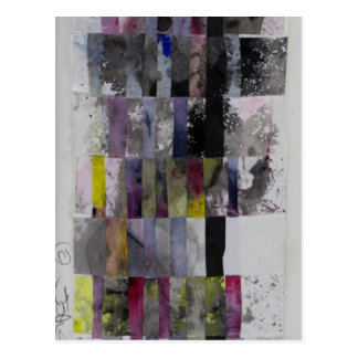 Abstract Weave Postcard