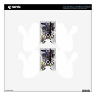 Abstract Weave Skin For PS3 Controller