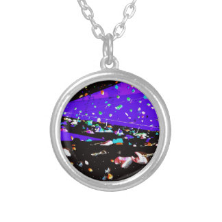 Abstract Weird Outer Space Design Necklaces