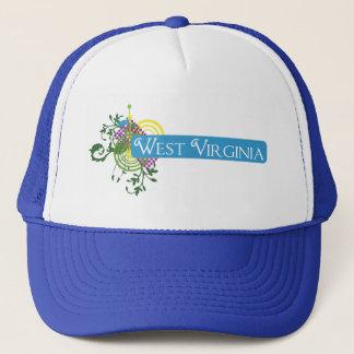 Abstract West Virginia Trucker Hat