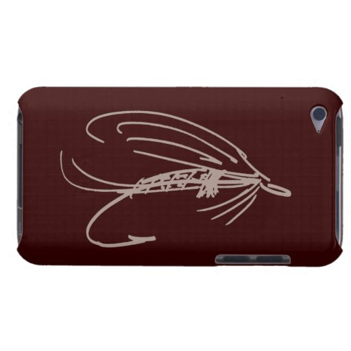 Abstract Wet Fly Lure Barely There iPod Cases