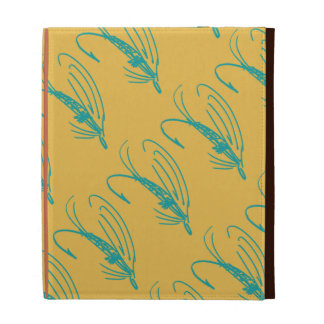 Abstract Wet Fly Lure iPad Folio Case
