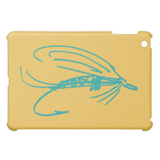 Abstract Wet Fly Lure iPad Mini Cover