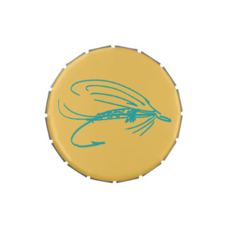 Abstract Wet Fly Lure Jelly Belly Tin