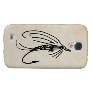 Abstract Wet Fly Lure Samsung Galaxy S4 Cover