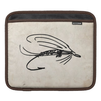 Abstract Wet Fly Lure Sleeve For iPads