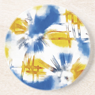 abstract whimsy drink coasters