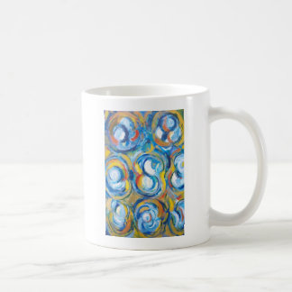 Abstract Whirling Dancers (abstract expressionism) Coffee Mug