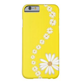 Abstract White Daisies on Yellow iPhone 6 case iPhone 6 Case