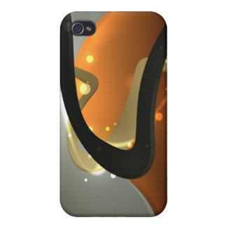 Abstract Widescreen iPhone 4/4S Case