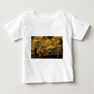 Abstract Wild City Baby T-Shirt