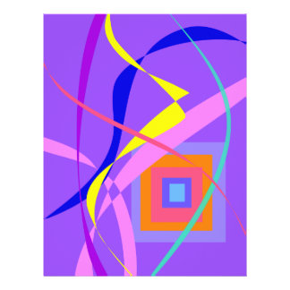 Abstract Wind and a Window Custom Flyer